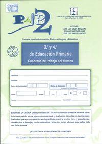 PAIB 2 - CUADERNO DE TRABAJO DEL ALUMNO 3º Y 4º PRIMARIA