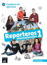 Reporteros Internacionales 1 (a1) Cuad - Marcela Calabria / Maria Letizia Galli / Maria Signo Fuentes