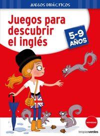 JUEGOS PARA DESCUBRIR EL INGLES 5-9 AÑOS
