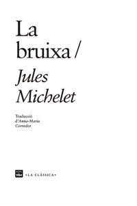 La bruixa - Jules Michelet