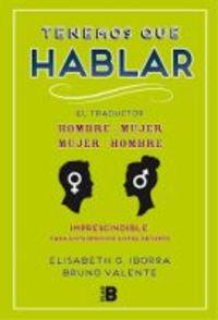 Tenemos Que Hablar - Elisabeth G. Iborra / Josa Hatero