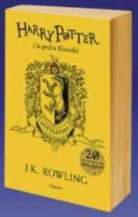 Harry Potter I La Pedra Filosofal - Hufflepuff (groc) - J. K. Rowling