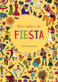 Nos Vamos De Fiesta - Marina Rodriguez Bailo