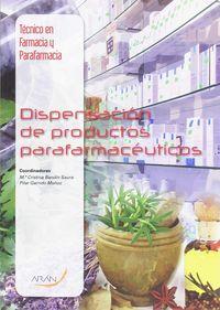 CF - DISPENSACION DE PRODUCTOS PARAFARMACEUTICOS