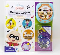 DISNEY BABY - MELODIAS MAGICAS - CUENTO CON REPRODUCTOR MUSICAL
