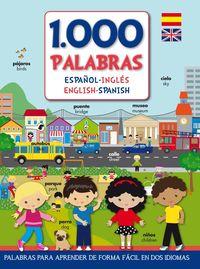 1000 Palabras - Español-Ingles - Mega Editions