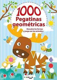 ANIMALES - 1000 PEGATINAS GEOMETRICAS