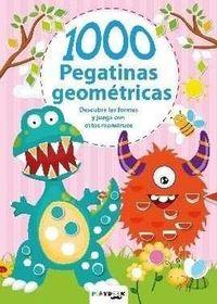 MONSTRUOS - 1000 PEGATINAS GEOMETRICAS