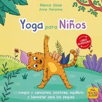 YOGA PARA NIÑOS - MINDFULNESS PARA NIÑOS - LIBRO REVERSIBLE