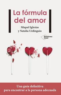 La formula del amor - Miquel Iglesias / Natalia Urdinguio