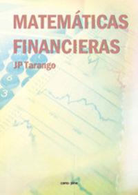 Matematicas Financieras - Jose Pedro Tarango Julian