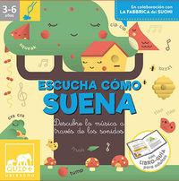 ESCUCHA COMO SUENA - DESCUBRE LA MUSICA A TRAVES DE LOS SONIDOS