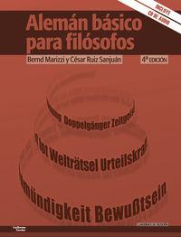 Aleman Basico Para Filosofos - Bernd Marizzi / Cesar Ruiz Sanjuan