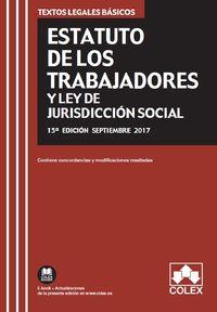 ESTATUTO DE LOS TRABAJADORES Y LEY DE JURISDICCION SOCIAL