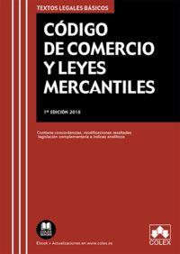 CODIGO DE COMERCIO Y LEYES MERCANTILES