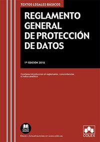Reglamento General De Proteccion De Datos - Aa. Vv.