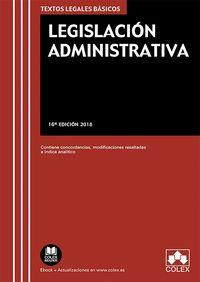 (16 ED) LEGISLACION ADMINISTRATIVA