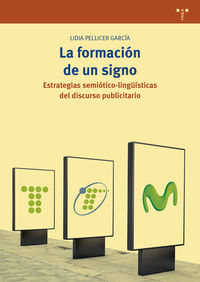 FORMACION DE UN SIGNO, LA - ESTRATEGIAS SEMIOTICO-LINGUISTICAS DEL DISCURSO PUBLICITARIO