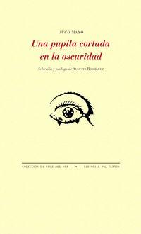Una pupila cortada en la oscuridad - Hugo Mayo