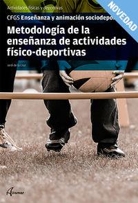 GS - METODOLOGIA DE LA ENSEÑANZA DE ACTIVIDADES FISICAS EN SITUACION DE DEPENDENCIA
