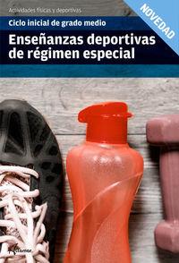 GM / GS - ENSEÑANZAS DEPORTIVAS DE REGIMEN ESPECIAL