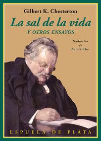 La sal de la vida - Gilbert Keith Chesterton