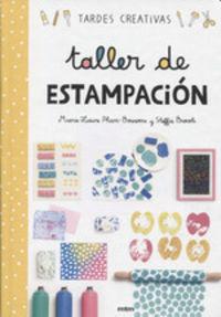 TALLER DE ESTAMPACION - TARDES CREATIVAS