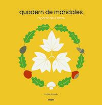 QUADERN DE MANDALES - A PARTIR DE 3 ANYS