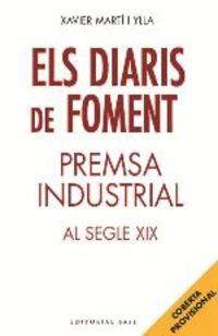 DIARIS DE FOMENT, ELS