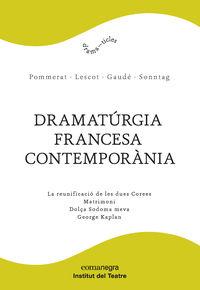 DRAMATURGIA FRANCESA CONTEMPORANIA