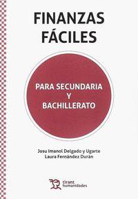 FINANZAS FACILES - PARA SECUNDARIA Y BACHILLERATO
