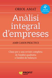 (4 ED) ANALISI INTEGRAL D'EMPRESES