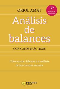 (7 ED) ANALISIS DE BALANCES - CON CASOS PRACTICOS