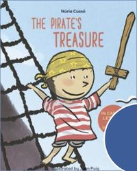 THE PIRATE'S TREASURE - ENGLISH CHILDREN'S BOOKS - LEARN TO READ IN CAPITAL LETTERS AND LOWERCASE : STORIES FOR 4 AND 5 YEAR OLDS