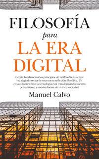 Filosofia Para La Era Digital - Manuel Calvo Jimenez