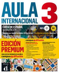 Aula Internacional 3 Ed Premium - Aa. Vv.