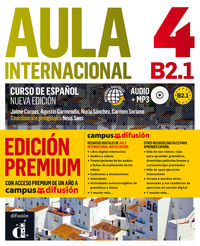 Aula Internacional 4 Ed Premium - Aa. Vv.