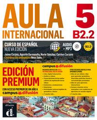 AULA INTERNACIONAL 5 ED PREMIUM