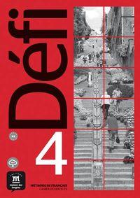 DEFI 4 (B2) CAHIER (+MP3)