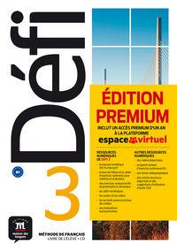 DEFI 3 (B1) (+CD PREMIUM)
