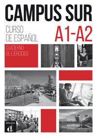 Campus Sur (a1-A2) Cuad. - Curso De Español - Aa. Vv.