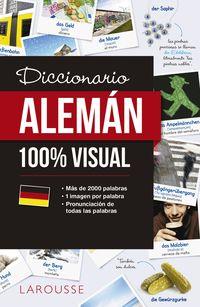 Diccionario De Aleman 100% Visual - Aa. Vv.