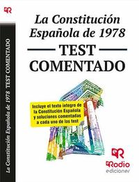 La Constitucion Española De 1978 - Test Comentado - Aa. Vv.