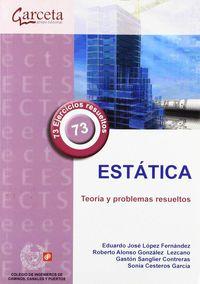ESTATICA - TEORIA Y PROBLEMAS RESUELTOS