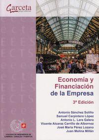 (3 Ed) Economia Y Financiacion De La Empresa - Antonio Sanchez Soliño