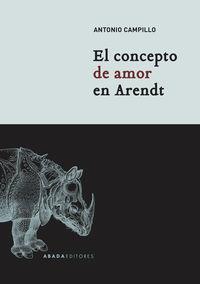 CONCEPTO DE AMOR EN ARENDT, EL