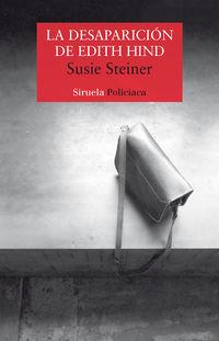 La desaparicion de edith hind - Susie Steiner