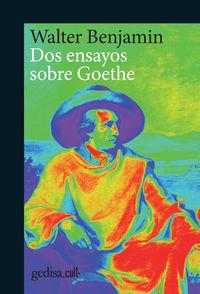 Dos Ensayos Sobre Goethe - Walter Benjamin