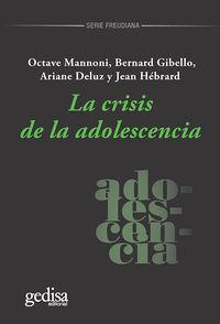 CRISIS DE LA ADOLESCENCIA, LA