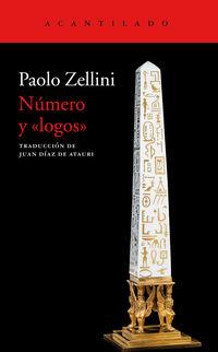 Numero Y Logos - Paolo Zellini